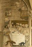 Abdij van Monte Oliveto Maggiore, Siena, Toscani? - Itali? stock foto's