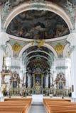 Abdij van St Gallen op Zwitserland Stock Foto's