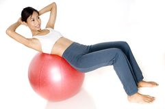 Abdominal Crunch Stock Photography