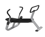 Abdominal Exercise Equipment isolated Royalty Free Stock Photos