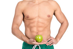 Abdominal muscles Stock Photo