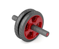 Abdominal toning wheel. 3D illustration of abdominal toning wheel Stock Image