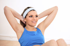 Abdominal for woman Stock Images