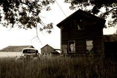 abdonded автомобиль Стоковое Изображение RF