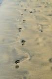 Abdrücke auf dem Meer 2 Stockfoto