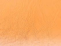 Abdrücke auf einer Düne in totem Vlei auf der Namibischen Wüste, Lizenzfreies Stockfoto