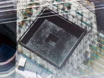 Abdruck-Erinnerungszusammenfassung Stockfotos