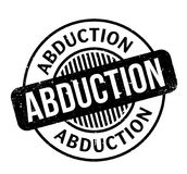 Abduction rubber stamp Royalty Free Stock Photography