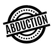 Abduction rubber stamp. Grunge design with dust scratches. Effects can be easily removed for a clean, crisp look. Color is easily changed vector illustration