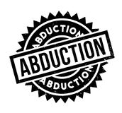 Abduction rubber stamp Stock Photo