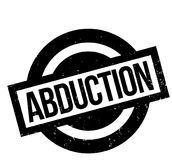 Abduction rubber stamp Royalty Free Stock Photo