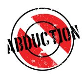 Abduction rubber stamp Stock Photos