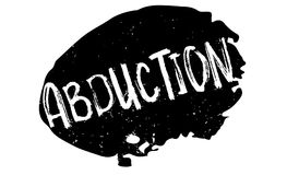 Abduction rubber stamp Royalty Free Stock Images
