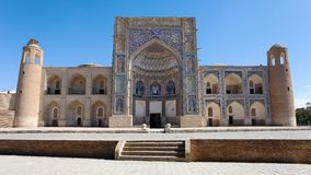 Abdul Aziz Khan Medressa - Bukhara Imagen de archivo libre de regalías