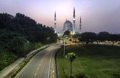 abdul aziz meczetowy Salahuddin shah sułtan Obraz Royalty Free