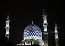 abdul Aziz Salahuddin szacha meczetowy sułtan Zdjęcia Royalty Free