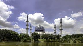 abdul Aziz Salahuddin szacha meczetowy sułtan Obraz Royalty Free