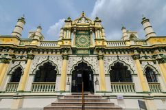 Abdul Gaffoor Mosque. Is a mosque in Singapore constructed in year 1907. The mosque located in the area known as Little India, which was an active business hub Stock Image