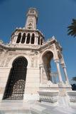 Abdul Hamid clock tower. Of Izmir Stock Images