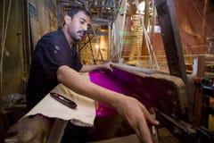 Abdul Kuddus Sawon 38 лет работник Benarashi Palli Стоковое Фото