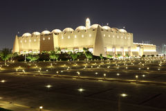 Abdul Wahhab Mosque i Doha Royaltyfri Fotografi