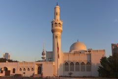 Abdulaziz Al Othman Mosque in Kuwait City royalty free stock photography