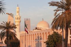 Abdulaziz Al Othman Mosque in Kuwait City stock image