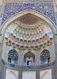 Abdulaziz-Khan Madrasah, Boukhara Images stock