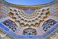 Abdulaziz Khan Madrassah en Bukhara Fotos de archivo