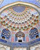 Abdulaziz Khan Madrassah en Bukhara Foto de archivo libre de regalías