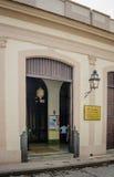 Abdulla清真寺在哈瓦那La Habana Vieja邻里  免版税库存图片