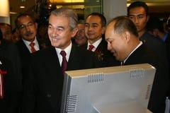 Abdullah Ahmad Badawi Stock Photos