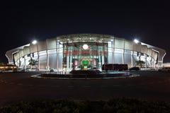 Abdullah Bin Khalifa Stadium i Doha, Qatar Royaltyfria Bilder
