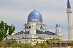 The Abdullah Fahim Mosque which bears the name of the father of the 5th Prime Minister of Malaysia. The Abdullah Fahim mosque is located in Kepala Batas, Penang Stock Photo