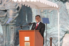 Abdullah Gul president royaltyfri fotografi