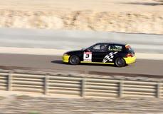 Abdulrahman Ghuloom σε Honda Civic Στοκ Εικόνες