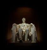 Abe на его троне Стоковое Изображение RF