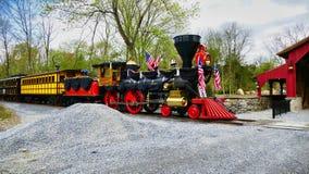 Abe Lincoln Funeral Train stock fotografie