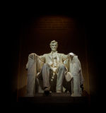 Abe på hans biskopsstol Royaltyfri Bild