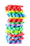 abecadła kolorowy odosobniony matowy łamigłówki set Zdjęcie Royalty Free