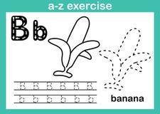 Abecadła a-z ćwiczenie z kreskówki słownictwem dla kolorystyki książki ilustracji