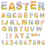 abecadło śliczny Easter ilustracji