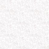 Abecadło wzór Obraz Stock