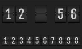 abecad?a projekta ilustracyjna machinalna liczb tablica wynik?w obraz royalty free