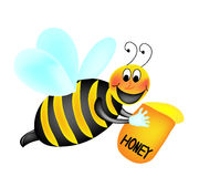 Abeille illustration stock