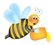 Abeille illustration libre de droits
