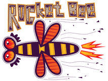 Abeille de Rocket Images stock
