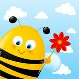 abeille drôle Images stock