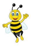abeille drôle Photographie stock