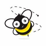abeille mignonne Photos libres de droits